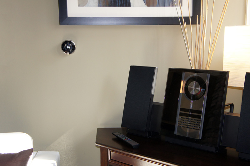 Nest Thermostat with our Beosound 3000